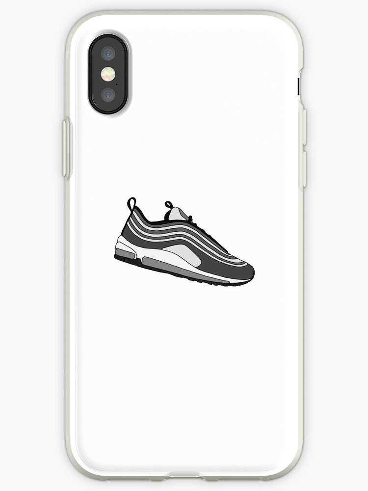 separation shoes bbf4e 0c9cb 'Air Max 97's Pure Platinum / Black' iPhone Case by Dylan Rogers