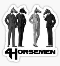4 Horsemen Sticker