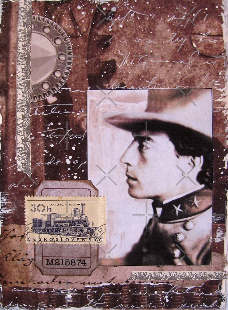 The Profile In General (Buster Keaton) by collageDP