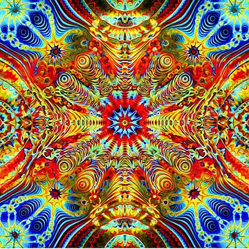 Cosmic Creatrip2 - Psychedelic trippy visuals by LeahMcNeir