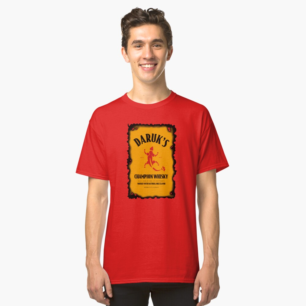 Daruk's Champion Whisky Classic T-Shirt Front