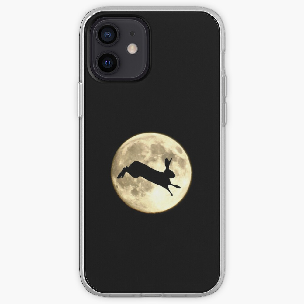 Hare and Moon iPhone Case & Cover