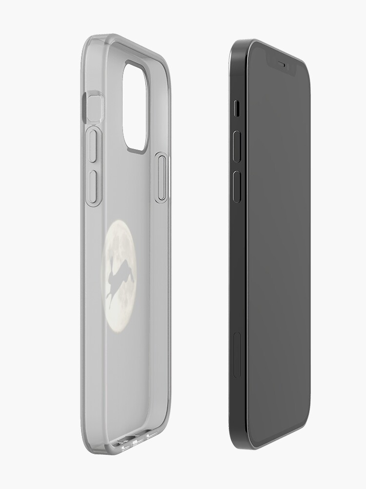 Alternate view of Hare and Moon iPhone Case & Cover
