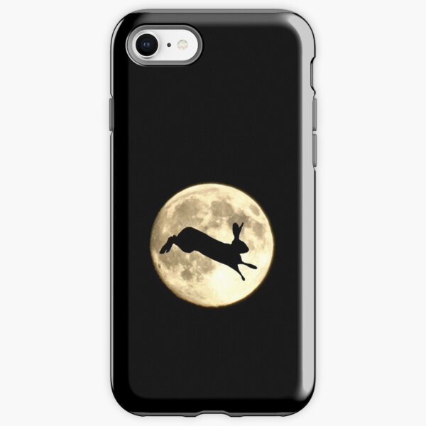 Hare and Moon iPhone Tough Case