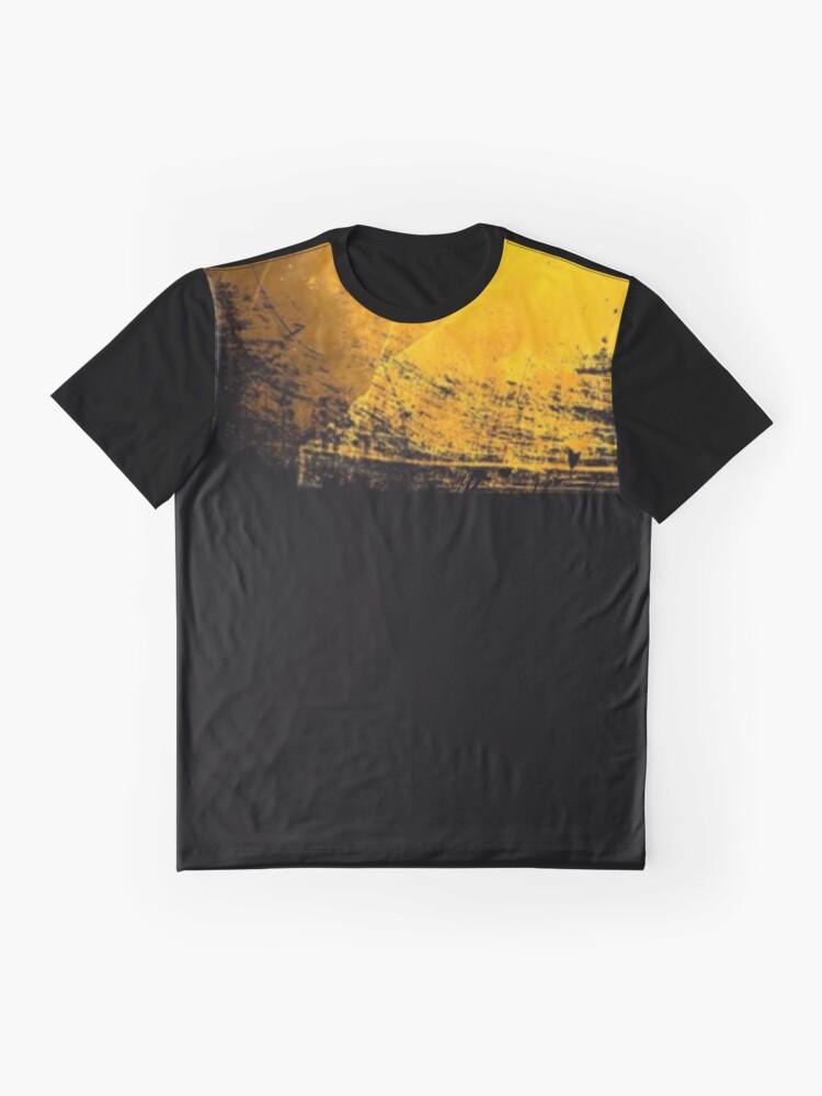 Alternate view of Graphic Yellow Graphic T-Shirt