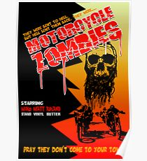 Motorcycle Zombies Poster