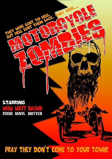 Motorcycle Zombies by Steve Harvey