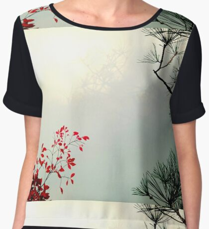 Last Chance Women's Chiffon Top