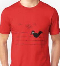 Bird and clowds T-Shirt