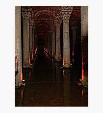 The Basilica Cistern Photographic Print