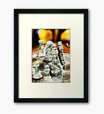 Chess Board Framed Print