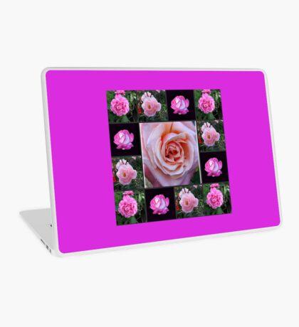 Rosa Rosen-Collage Laptop Skin