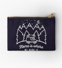 Home is Where We Park it Studio Pouch