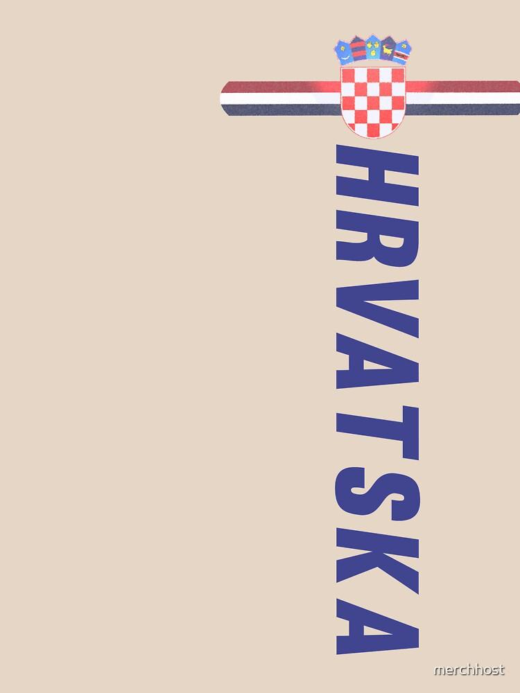 Hrvatska National Jersey Style Sport  by merchhost