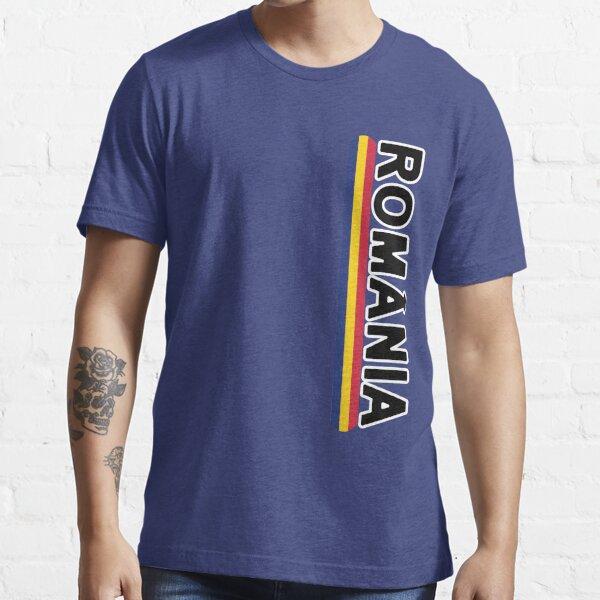 Estilo rumano Deluxe Jersey Sports Team Camiseta esencial