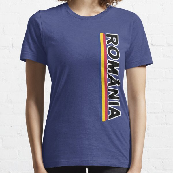 Romanian Deluxe Sports Team Jersey Style Essential T-Shirt