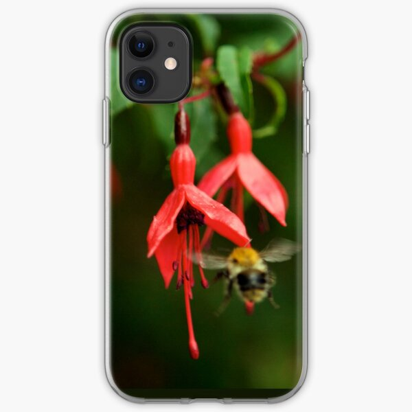 Fuchsia at Loch Na Fooey (wide) iPhone Soft Case