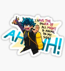 POWER OF ALL MIGHT Sticker