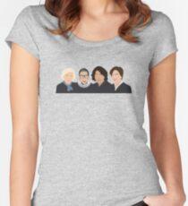 Die Supremes Tailliertes Rundhals-Shirt