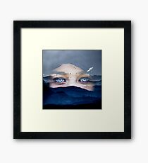 With Wings Framed Print