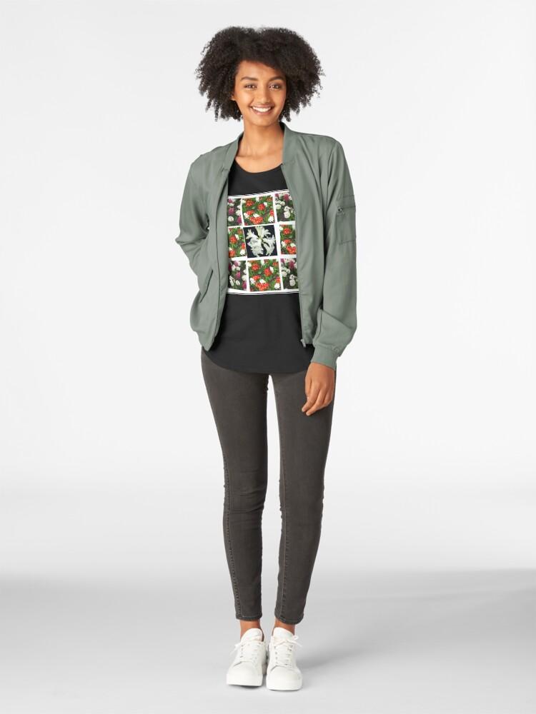 Alternative Ansicht von Hyacinths and Primroses Spring Collage Premium Rundhals-Shirt