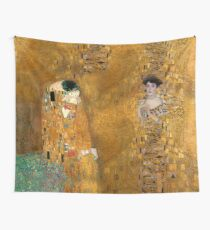 Klimt -  Woman in Gold - The Kiss Wall Tapestry