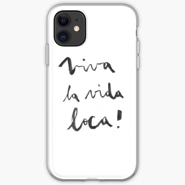 Viva la vida loca! iPhone Soft Case