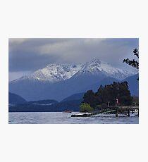 Enjoying Early Morning at Lake Te Anau Photographic Print