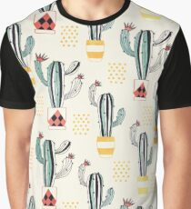 Cactus in a Pot small-scale Graphic T-Shirt