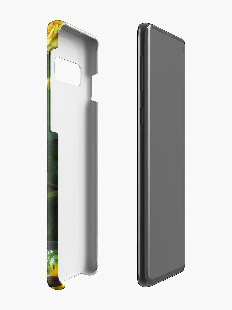 Alternative Ansicht von Goldene Schönheiten Collage Hüllen & Klebefolien für Samsung Galaxy
