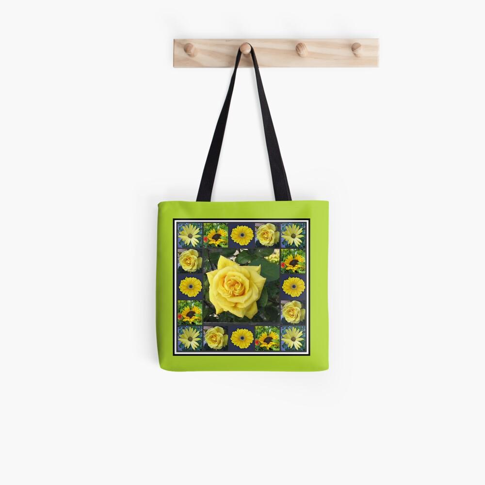 Goldene Schönheiten Collage Tote Bag