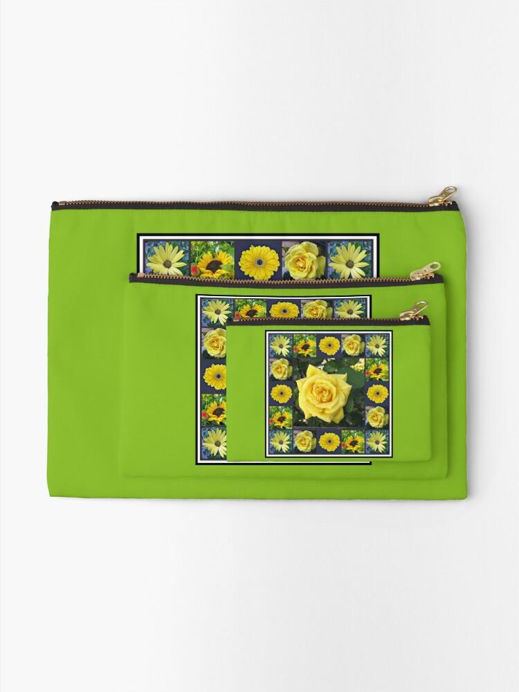 Alternative Ansicht von Goldene Schönheiten Collage Täschchen