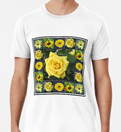 Goldene Schönheiten Collage Premium T-Shirt