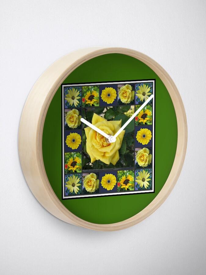 Alternative Ansicht von Goldene Schönheiten Collage Uhr