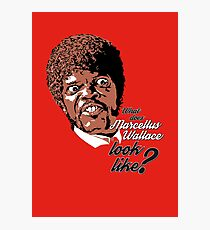 Jules Winnfield - Pulp Fiction Photographic Print