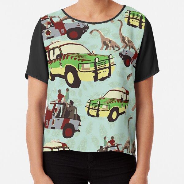 Jurassic Ride Chiffon Top