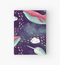 Dream Whales Hardcover Journal
