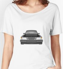 Saab 900 - Black Women's Relaxed Fit T-Shirt