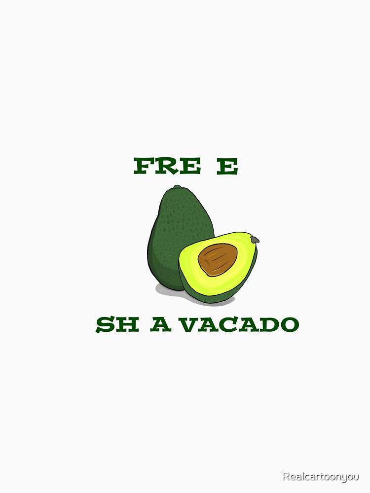 FREE SHAVACADO by Realcartoonyou