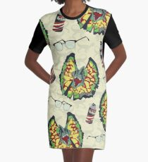 Life Finds a Way Graphic T-Shirt Dress