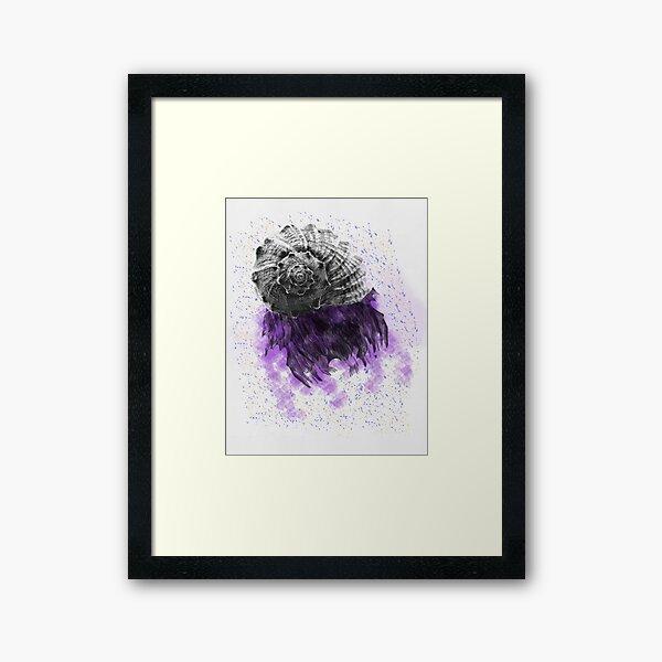 Purple Nightmare Framed Art Print