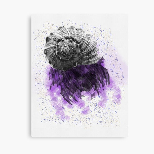 Purple Nightmare Canvas Print