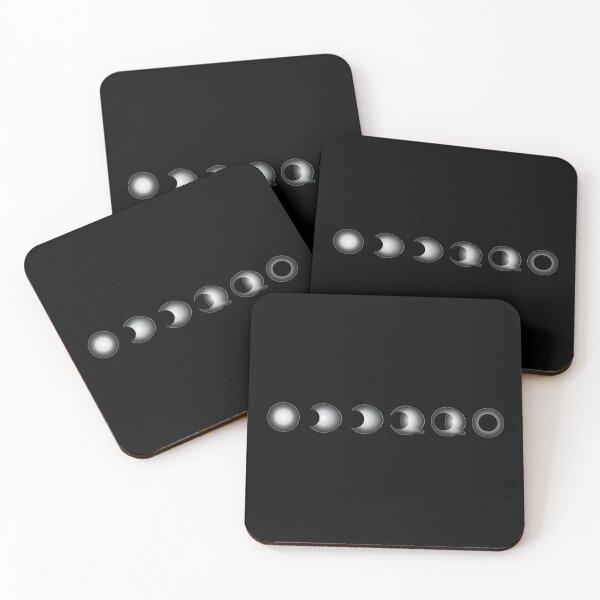 lunar eclipse Coasters (Set of 4)