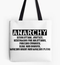 Rent - Anarchy Tote Bag