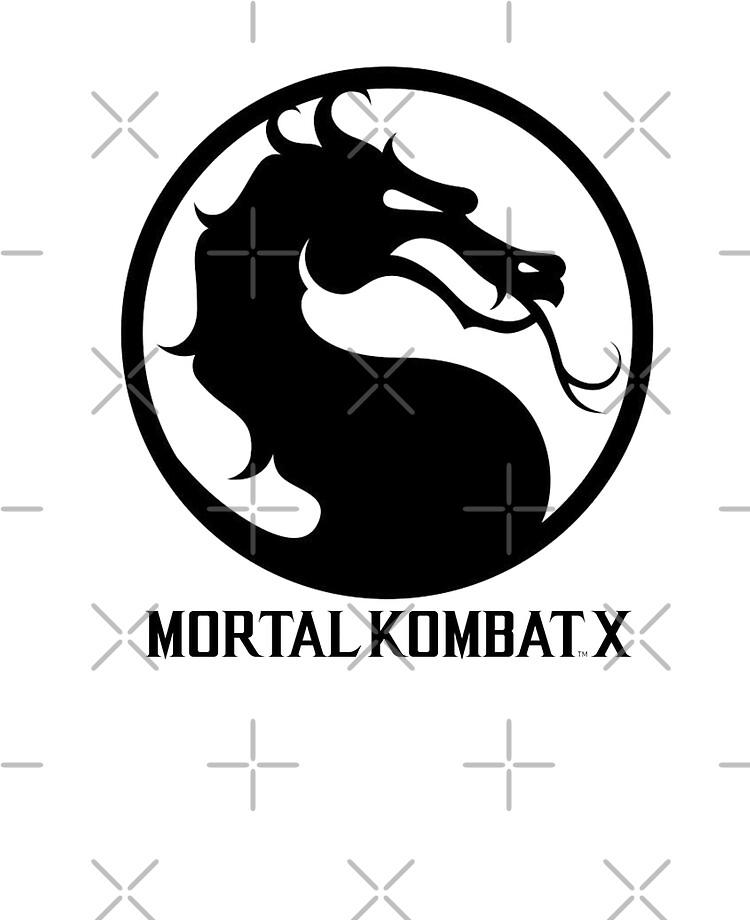Mortal Kombat X Logo Ipad Case Skin By Deadlygraphics Redbubble