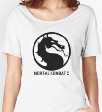 Mortal Kombat X LOGO Women's Relaxed Fit T-Shirt