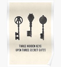 Three Hidden Keys Poster