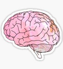 Aquarell Gehirn Sticker