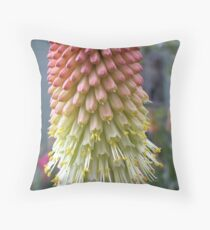 Poker plant Throw Pillow