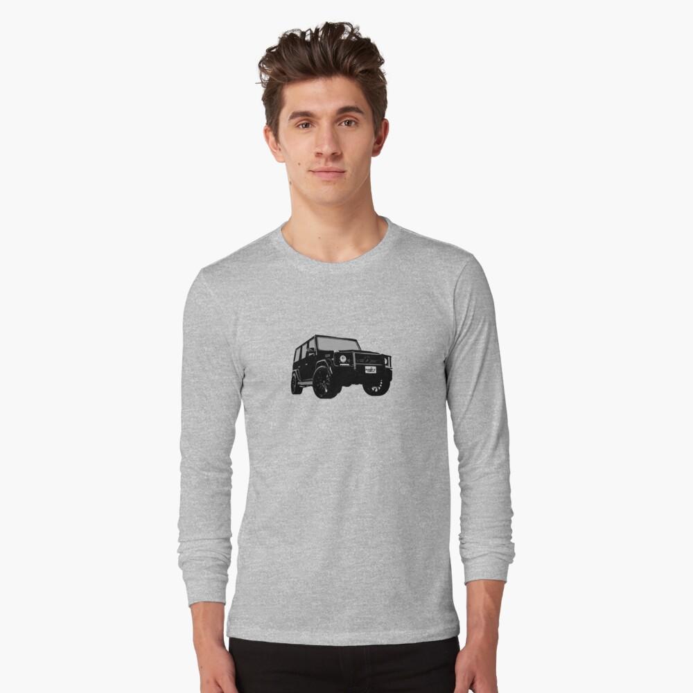 Shift Shirts OG - AMG G-Wagon Inspired Long Sleeve T-Shirt Front